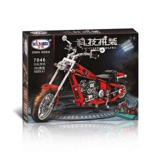 WINNER 7046 Technique Harley Motorcycle