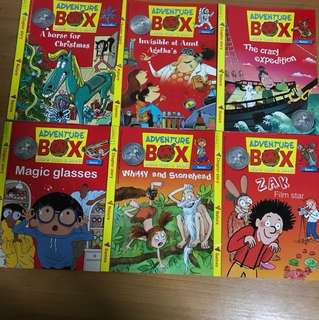 Adventure Box And Story box Children books