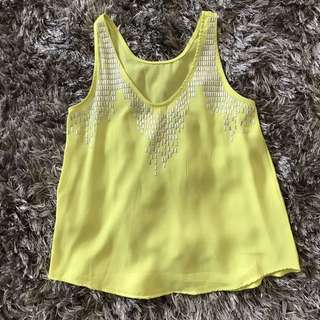 Yellow Neon Top