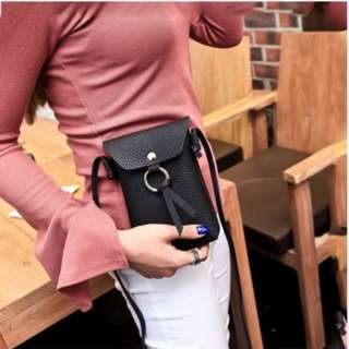 Cellphone pouch with sling