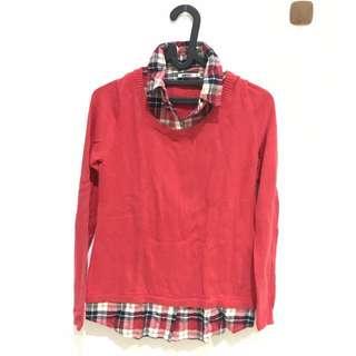 BALENO Sweater Kerah