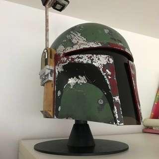 Display stand for Star Wars racing helmets Halloween props masks buckets