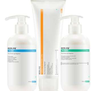 Acne.org regimen products
