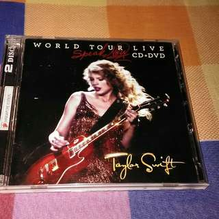 Taylor Swift Speak Now World Tour Live CD/DVD