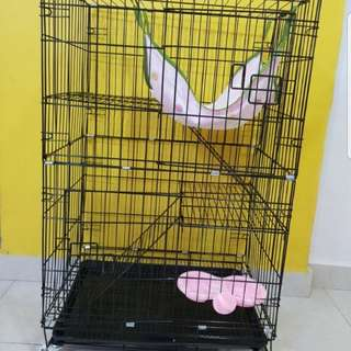 Brand New 2 Tiers Cat Cage / Cheapest Cage / Pet Cage