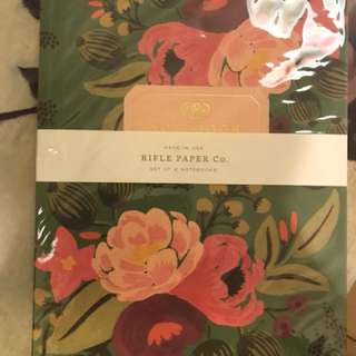 RIFLE Paper set of 2 notebooks