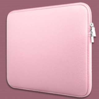 Classic Neoprene Inner Padded MacBook Computer Laptop Zipper Sleeve Casing Case