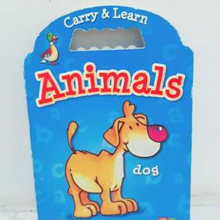 Carry & Learn Animal Book