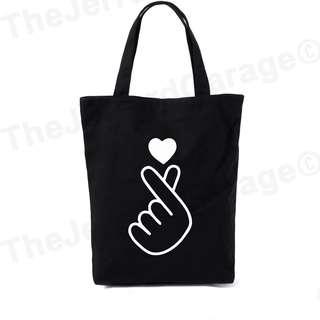 Saranghae I Love You Tote Bag