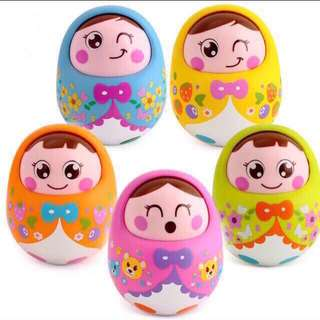 🦁Instock - nodding doll, baby infant toddler girl boy children glad cute 12345