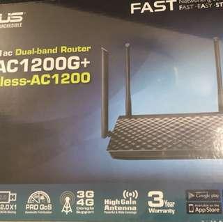 BNIB- Asus Dual Band AC1200G+