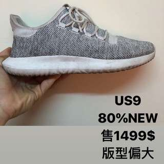 🚚 adidas tubular shadow 小350 白灰