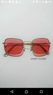 Red Kayla Sunglasses