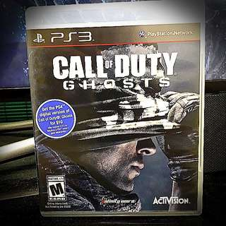 PS3 @ Call of Duty : Ghost