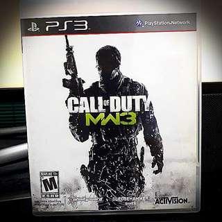 PS3@ Call Of Duty : Modern Warfare 3