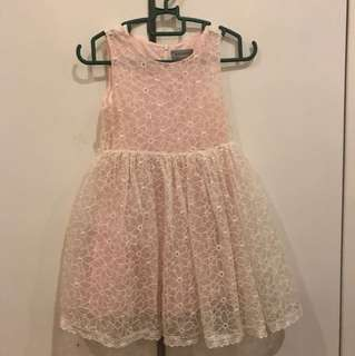 Dress light peach