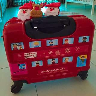 CHILDREN LUGGAGE LIMITED EDITION FROM OU DEC WINTER 2015 COLLECTION