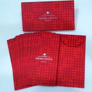 2018 One Box 10 Pcs Georg Jensen Luxury Jewellery Watch Red Packets