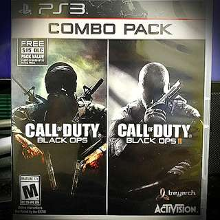 PS3 @ Call Of Duty : Black Ops Combo
