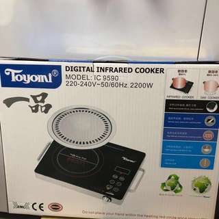 Brand New Toyomi Infrared Cooker/steamboat