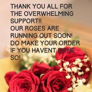 Last batch of VDAY roses !!!!!