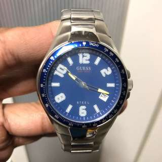GUESS STEEL WATCH