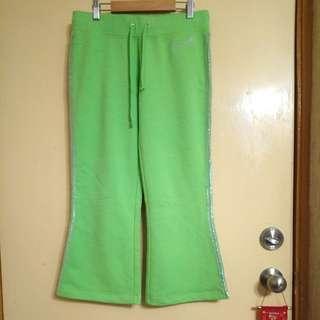 Guess女裝綠色珠片長衭休嫻運動