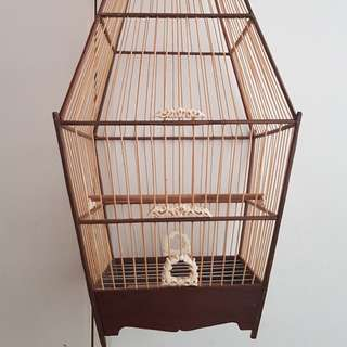 Jambul cage 15s basic with faux ivory accs