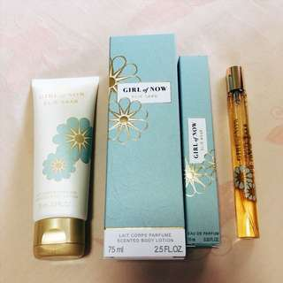 Elie Saab body cream & EDP set