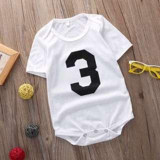 🐰Instock - 0-3 months old romper, baby infant toddler girl boy unisex children glad cute 12345