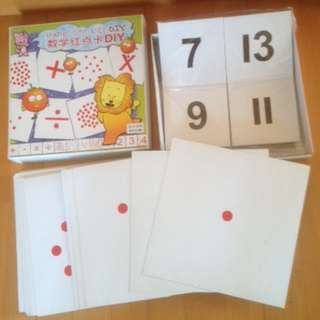 Maths Dot Cards - Right Brain Training