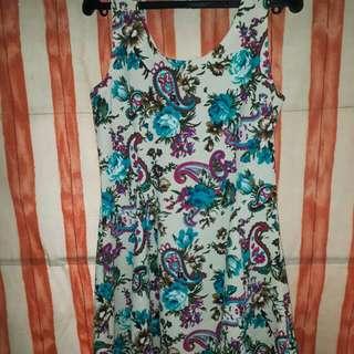 Floral Dress #MoveOn