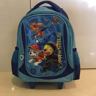 Paw Patrol Trolley Backpack school bag