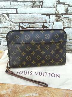Authentic Louis Vuitton Orsay Cluthbag Made in france Datecode inside Good Condition Sticky pocket Whatsapp www.wasap.my/60137178534