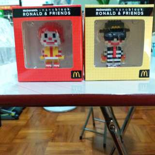 McDonald's RONALD & FRIENDS 公仔