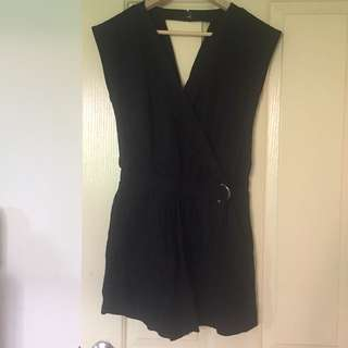New Black Jeanswest Playsuit