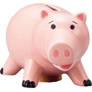 全新 正品 火腿豬撲滿/存錢筒 預購