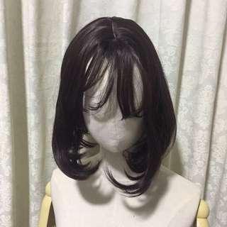 Brown Black Bob wig