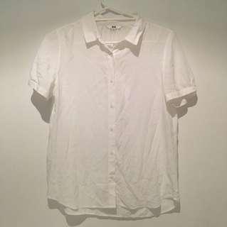 Beautiful quality white blouse shirt