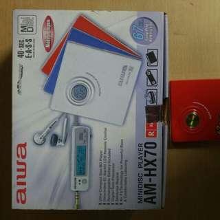 aiwa minidisc playerAM-HX70