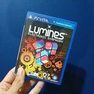 Original PS Vita Lumines
