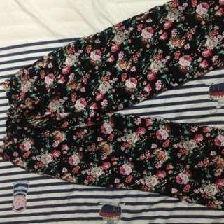 Floral trouser - celana motif bunga