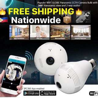 Smart CCTV Bulb Camera