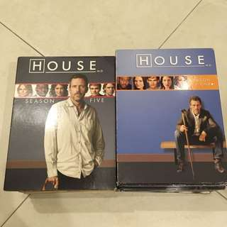 HOUSE M.D complete DVD series