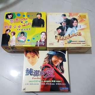 Korean Drama VCD 3 Sets