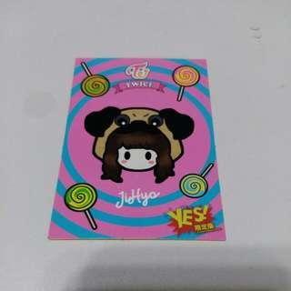 Twice 專輯卡 貼紙