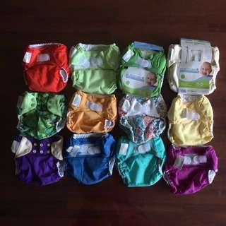Bum Genius clothes diaper complet set