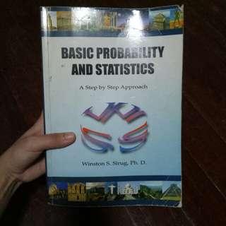 Basic Probability and Statistics