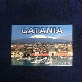 Catania Ref Fridge Magnet