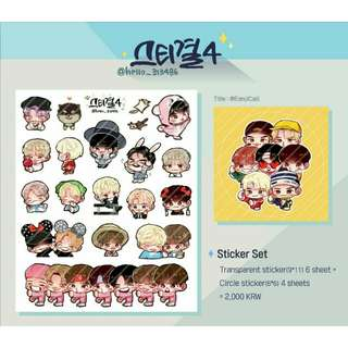 [SHARE] BTS Fanart Stickers (Series 4)
